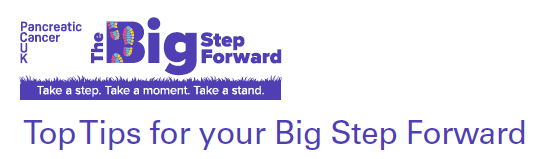 Top Tips for your Big Step Foward